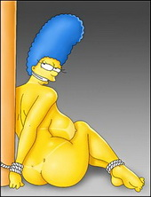 Marge Simpson - main comics porn
