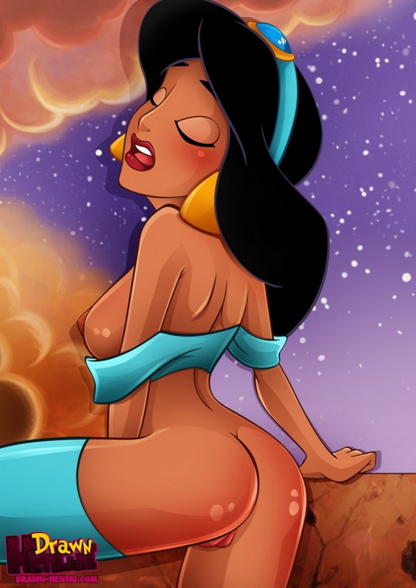 Insatiable Pussy Princess Jasmine From Drawn Hentai Aladdin
