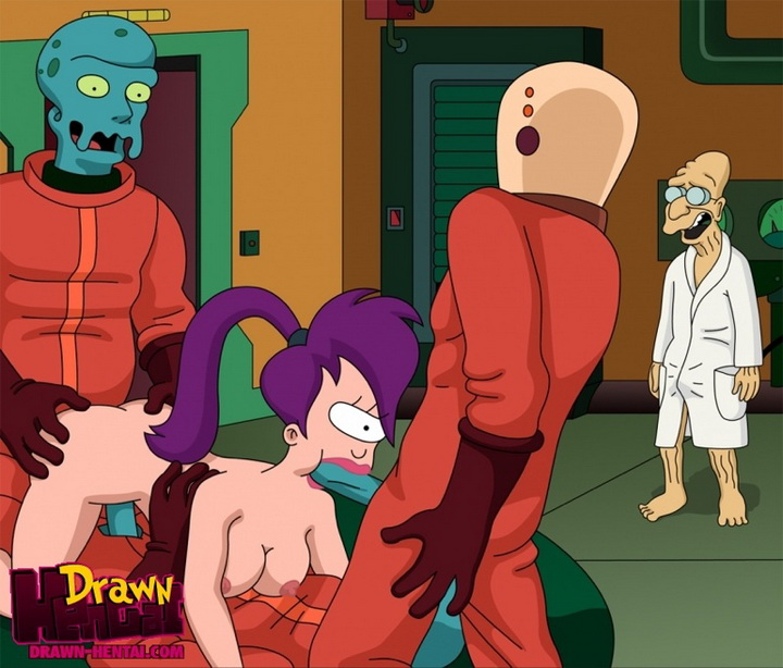 Futurama - Sucking and Fucking