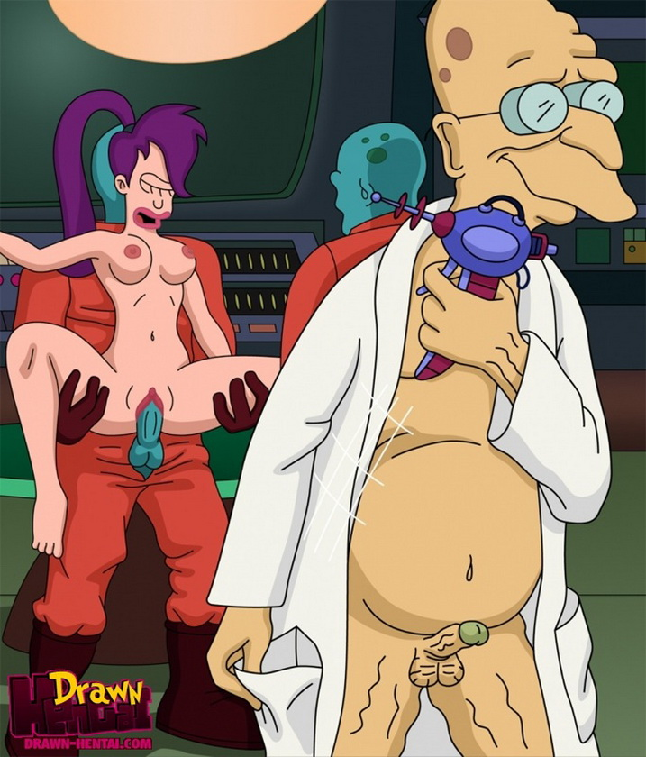futurama female caracters naked