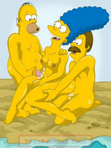 Simpsons porn caroons