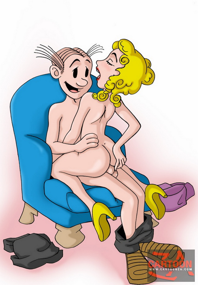 Happiness! dagwood and blondie bumstead sex