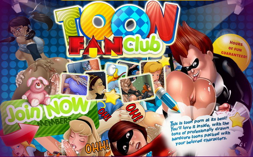 Toon Fan Club - sex cartoons