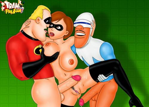 Elastigirl porn cartoons