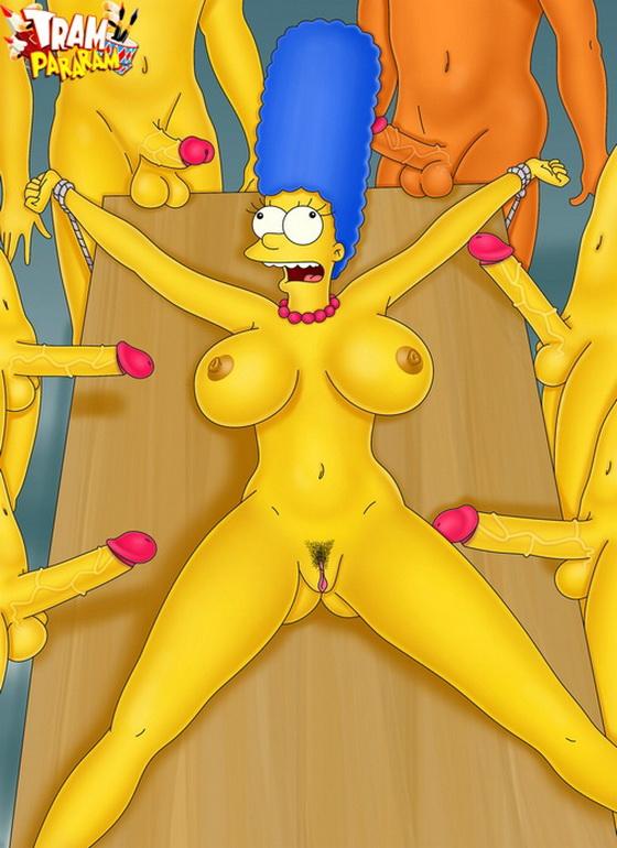 Порно фото голой мардж симпсон