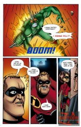 Elastigirl fucking with Syndrome - Porn Comics