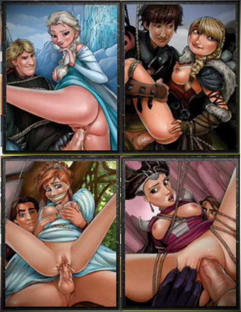 Cartoon porn parodies with favorite disney characters