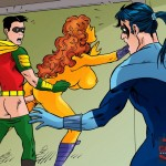 Babe from Teen Titans gets nailed - Porn Comics