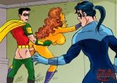 Superhero fucking with Teen Titans - Porn Comics