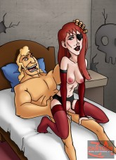 Hot evil sluts from The Venture Bros. - Porn Comics