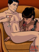 Sterling Archer and his horny bitches Porn Comics