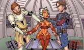 Star Wars porn cartoon 1