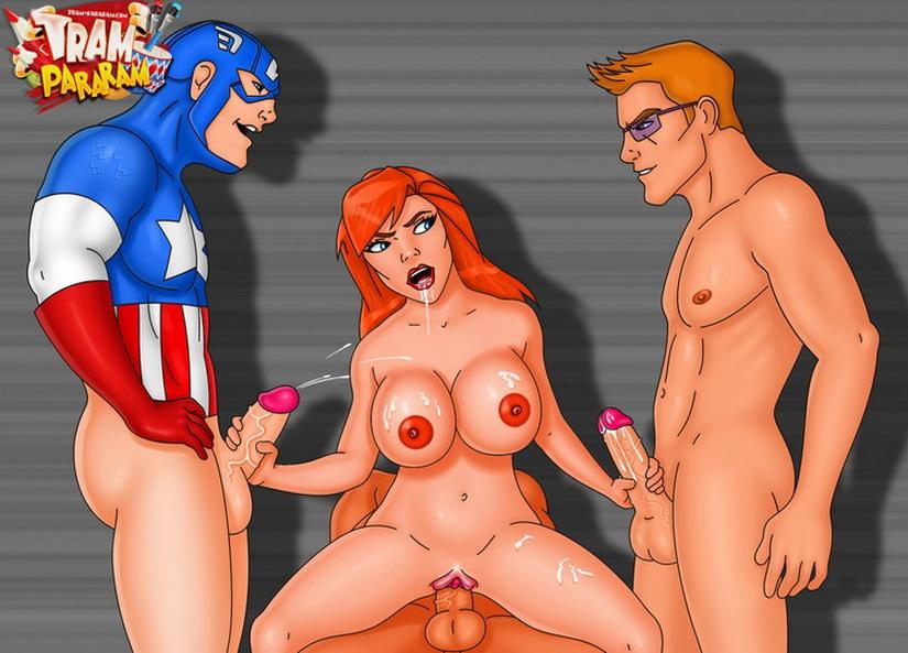 Superheroes sex pics 2
